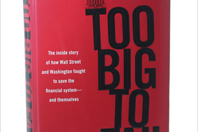 "BOOKS: Andrew Ross Sorkin's ""Too Big To Fail"""