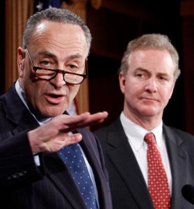 Sen. Charles Schumer and Rep. Chris Van Hollen (File Photo)