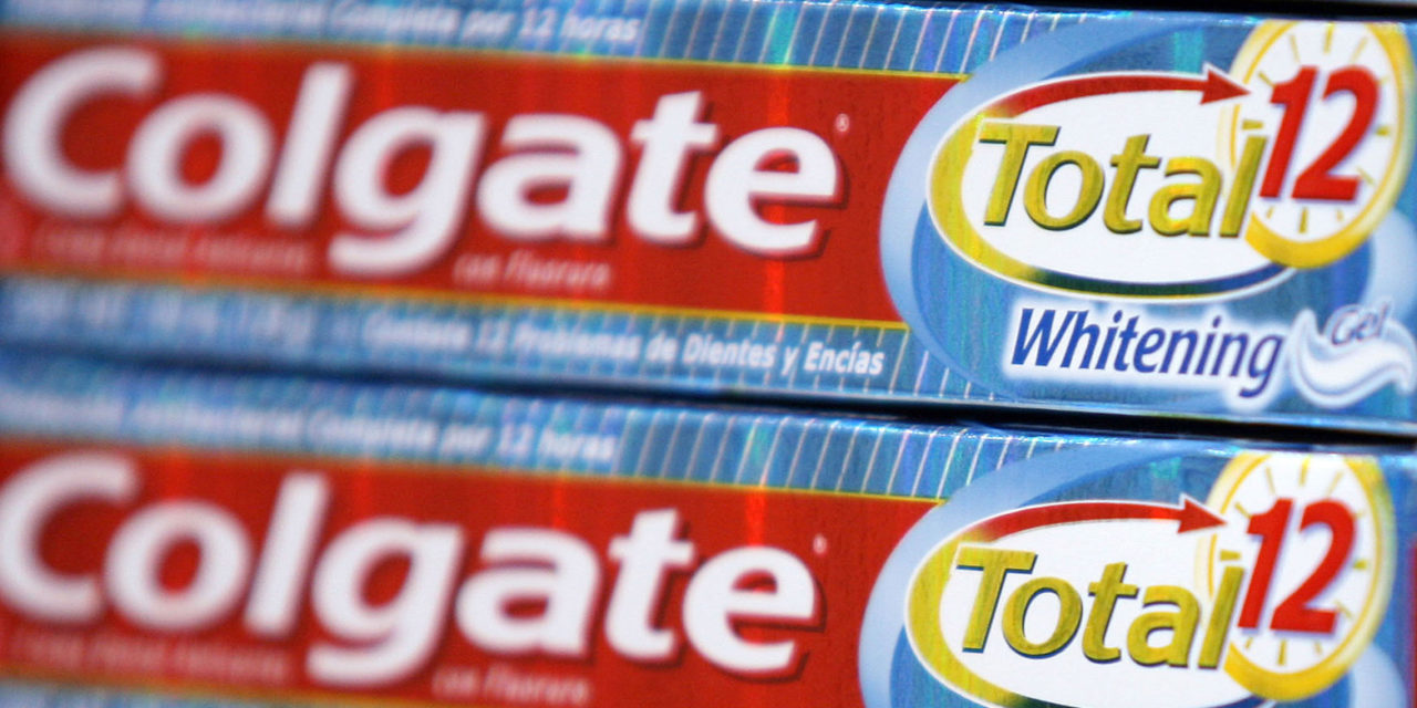 Controversial Chemical Poses Challenge for Colgate-Palmolive
