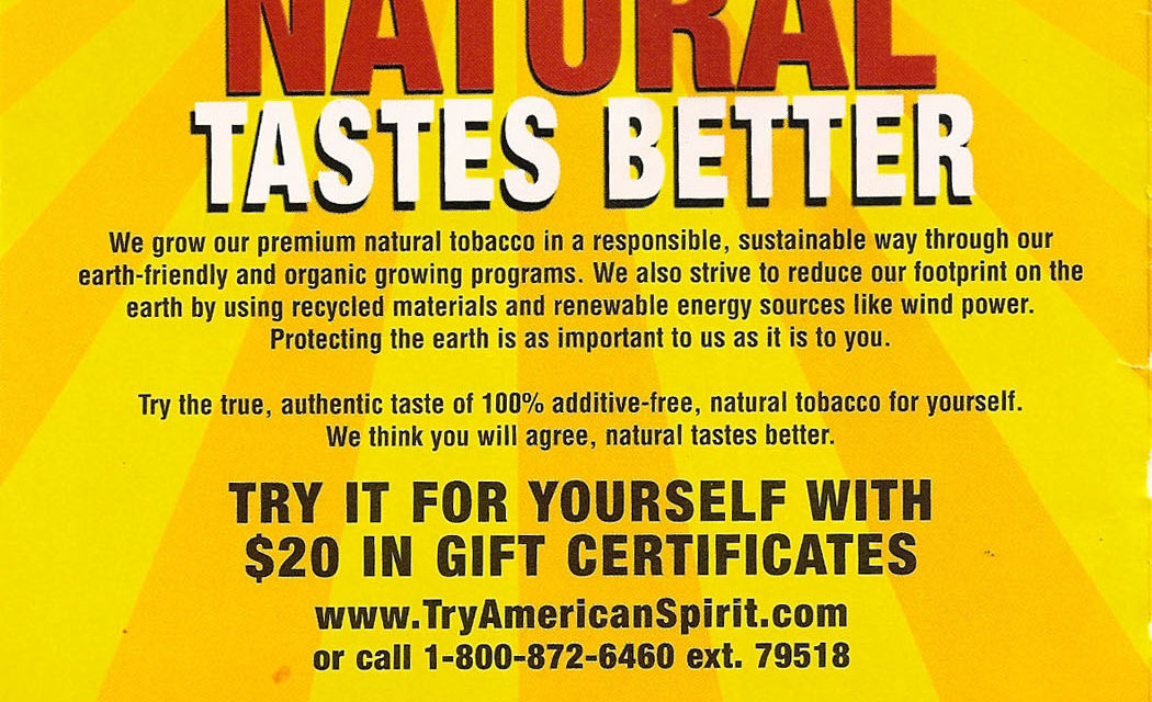 Organic…Tobacco?