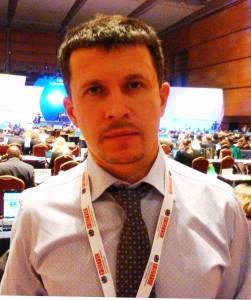 Ukrainian anti-tobacco activist Andriy Skipalskyi