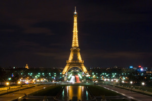 The Eiffel Tower at Trocadéro in Paris, France. Credit: Sathish J, FlickrCC